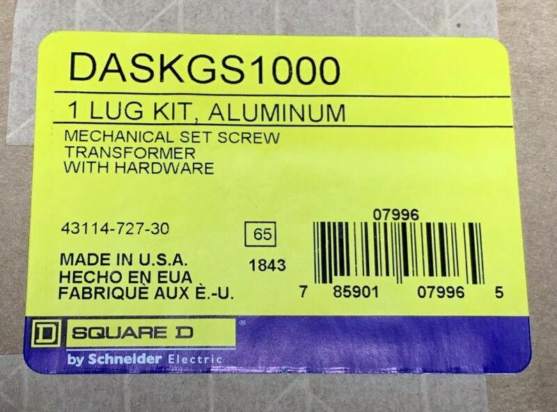 DASKGS1000 Aluminum Square D Transformer Lug Kit NEW Sealed Box