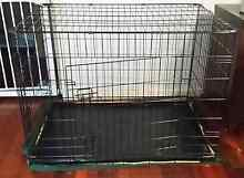 XXL Metal Pet Crate w Adjustable Divider & mattress Nambour Maroochydore Area Preview