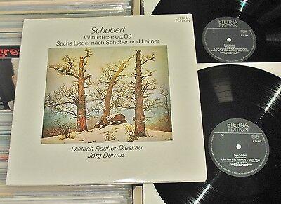 Schubert - 2 LP (mint-) Winterreise & Lieder nach Schober und Leitner / ETERNA