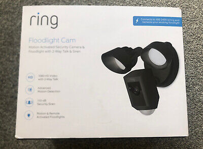 Ring Floodlight Cam - Black Brand New RRP £250