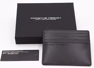 PORSCHE DESIGN CARDHOLDER CARTERA PIEL PORTAFOGLIO PORTEFEUILLE LEATHER WALLET