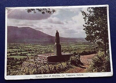 POSTCARD: SUNSET: GLEN OF AHERLOW: CO TIPPERARY: IRELAND: UN POSTED