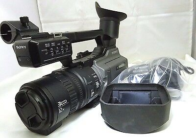 Sony DSR-PD170 3CCD DVCAM Professional Camcorder battery bundle - -  (low hours)