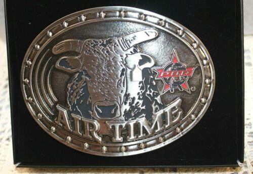 NIB Montana Silversmiths Belt Buckle Bull Rider Cast PBR Airtime~Attitude