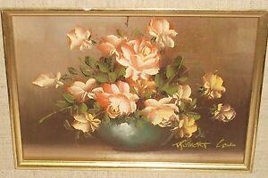 Oil Paintings By Robert Cox Flowers Roses
