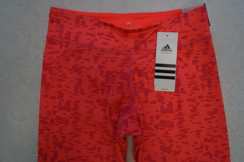 Adidas Climalite tight 3/4 Hose Capri Fitness Training Gr. XS, M, L 2 Farben NEU
