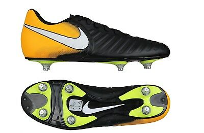 Men's Nike Tiempo Rio IV Sg Football Boots Uk Size 8 + Free Footy Socks