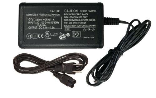 CA-110E CA-110 Power Adapter for Camcorders Legria Vixia HF R26 R36 R46 & More !