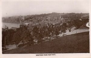 CHATHAM FROM PORT PITT KENT RP POSTCARD by IVE & LOWE POSTED 22-AUG-1916