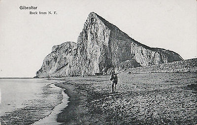 Gibraltar rock from north east soldier #D31