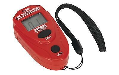 Sealey TA091 Workshop Digital Paint Thickness Gauge Tester Diagnostic Tool New