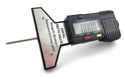 Taytools 0-1 0-25 Mmdial Indicator Tire Tread Gauge And Digital Depth Gauge