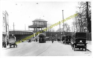 Herne Hill Railway Station Photo. Brixton to Dulwich and Tulse Hill Lines. SE&CR