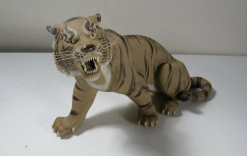 Vintage Shiwan Chinese Pottery Tiger Figure - Penjing