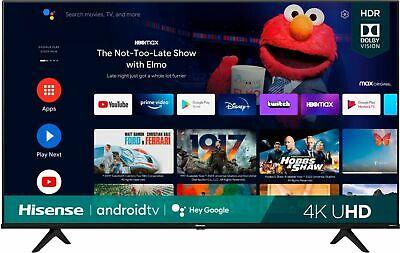 "Hisense 65"" A6G Series 4K UHD Android Smart TV - 4 HDMI -"