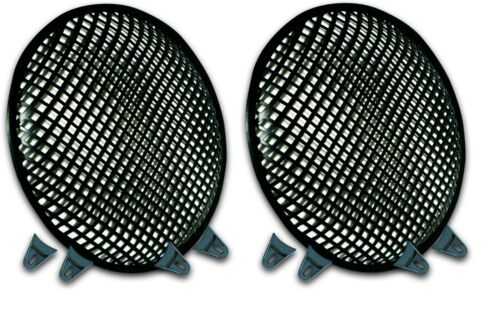 12 INCH PAIR SUBWOOFER SPEAKER COVERS WAFFLE MESH GRILL  PROTECT GUARD CLIP 12""