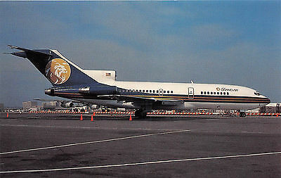 Mgm Grand Air Boeing 727 191 Service By Regent Air Postcard