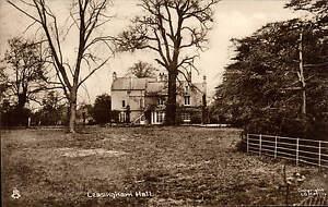 Leasingham near Sleaford. Leasingham Hall # LGHM.16 by Tuck.