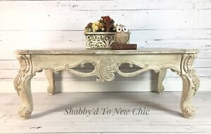 French Country Chic Coffee Table