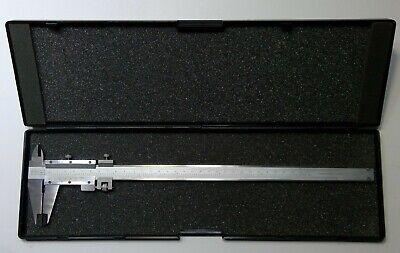 Fowler 52-052-012-0 Vernier Caliper W Fine Adjustment 0-12300mm