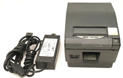 Star Tsp700ii Tsp743ii Thermal Parallel Pos Receipt Printer Wpower Supply Tsp 7