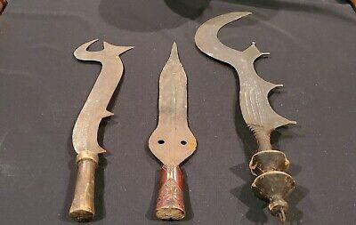 Handmade Antique  African swords  of the Ashanti 30 CM