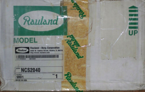 NEW Rauland-Borg NCS2040 Responder Power Supply, OME, New Old Stock, New In Box