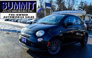 2012 Fiat 500C Pop | ONE OWNER | CAR-FAX CLEAN | LOW MILEAGE