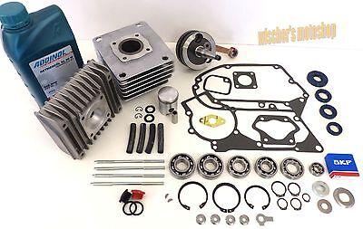 SIMSON Schwalbe KR51/2 S51 SR50 Set Motorreparatur 50 ccm mit Öl von MZA