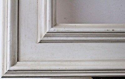 Holzrahmen weiß Falzmaß ca. 100x50 cm