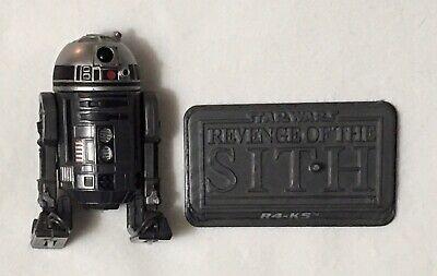 Star Wars R4-K5 Darth Vader's Black Astromech Droid Saga TSC