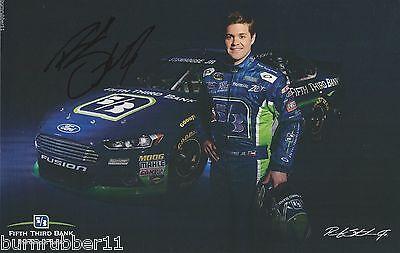 Signed 2014 Ricky Stenhouse Jr  Fifth Third Bank   17 Nascar Sprint Cup Postcard