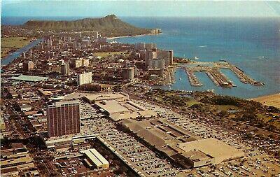 Ala Moana Center Waikiki Hawaii Honolulu HI aerial view (Ala Moana Center Honolulu)