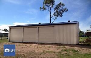 12m x 7.5m x 2.7m Shed Beaudesert Ipswich South Preview