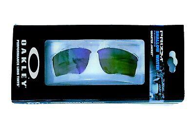 New Oakley Quarter Jacket® Polarized Shallow Water PRIZM Lens.  Retail (Water Quarter)
