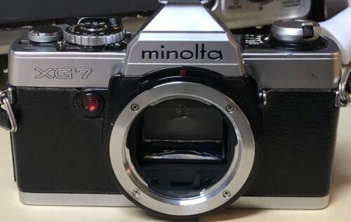 Minolta XG-7 Manual Focus SLR Film Camera Body Only - $7.00