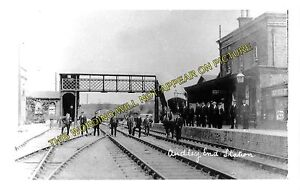 Audley End Railway Station Photo. Newport - Great Chesterford and Saffron Walden