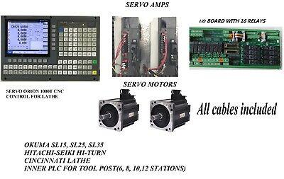 Servo Automation Cnc Control Kit Mazak Moriseikihitec-turncincinnati Lathe