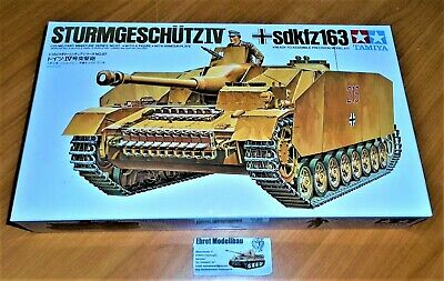 WWII german Tank Panzer Sd.Kfz.163 Sturmgeschütz IV  in 1:35 Tamiya 35087 Neu