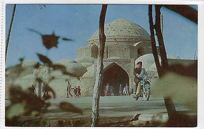 TAKI-TILPAK-FURUSHEN MARKET PLACE, BUKHARA: USSR postcard (C13576)