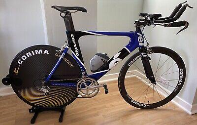 Cervelo P2C TT Time Trial Road Bike Campagnolo Chorus Aero Carbon Corima Reflex
