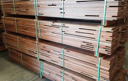 130x14 T&G Overlay Mixed Hardwood Flooring