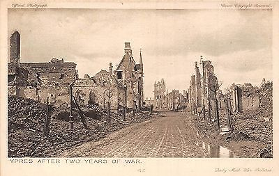 POSTCARD    MILITARY  WWI   DAILY  MAIL    Series  6   No  47