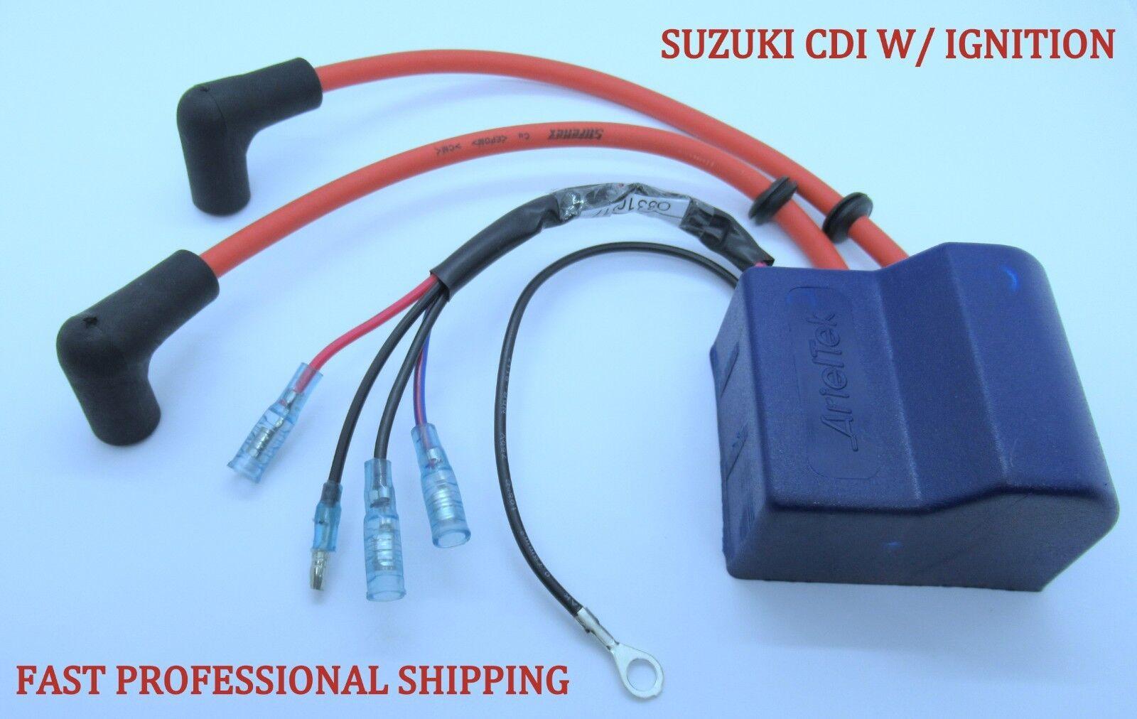 Suzuki Outboard 32900-96340 CDI Unit W// Ignition Coil 2 Stroke 25-30HP 1986-1994