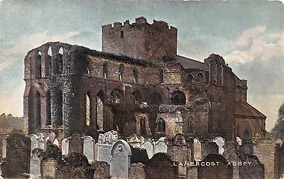 Brampton Cumberland Uk Lanercost Abbey National Series Postcard 1910S