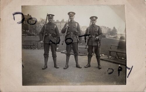 WW1 Soldier  group 5th London Regiment LRB marching order London Rifle Brigade