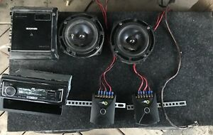 Car stereo and subs