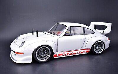 P Tamiya TA02-SW 1/10 Porsche 911 GT2 RC Drift Car 4WD Never Run Orig Box