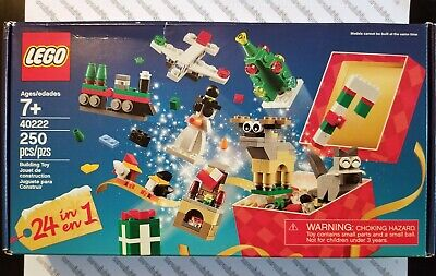 LEGO Holiday Promo #40222 - Christmas Build Up - 24 In 1 Set Brand New & Sealed!