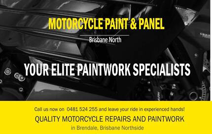 MOTORCYCLE PAINTWORK NORTH BRISBANE